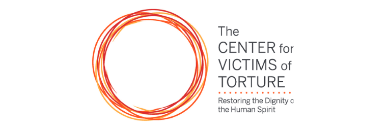 gardner gives the center for victims of torture